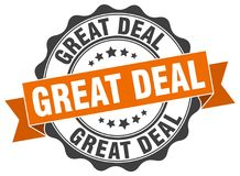 Great deal stamp Stock Photo