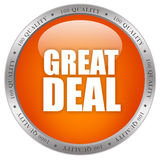Great deal icon Royalty Free Stock Image