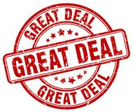 Great deal stamp Stock Images