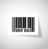 Great deals barcode upc code illustration design Stock Photo