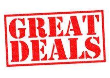 GREAT DEALS Royalty Free Stock Image