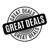 Great Deals rubber stamp Royalty Free Stock Photo