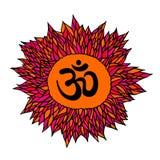 Great design for tattoo, yoga studio, spirituality concepts, trendy textiles Royalty Free Stock Photo