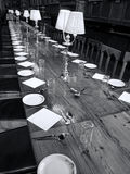 Great Dining Hall of  Christ Church  College Oxford University Royalty Free Stock Photography