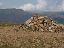 Great Dodd Cairn Royalty Free Stock Image