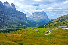 The Great Dolomite Road Royalty Free Stock Photo