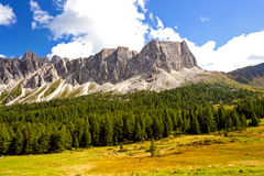 The Great Dolomite Road Stock Photography