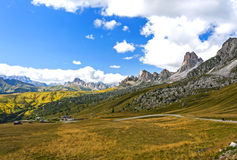 The Great Dolomite Road Stock Photo