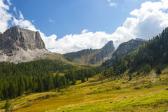 The Great Dolomite Road Stock Photos