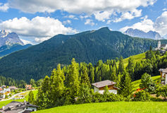 The Great Dolomite Road Royalty Free Stock Photography