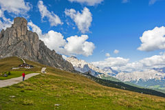The Great Dolomite Road Stock Image