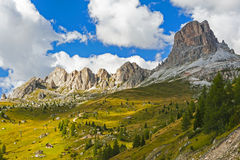 The Great Dolomite Road Royalty Free Stock Image