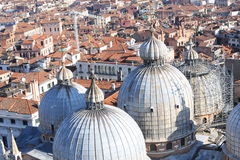 Great dome of the Basilica of Saint Mark in Venice Stock Photo