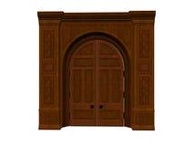 Great Door. Isolated great door Stock Photos