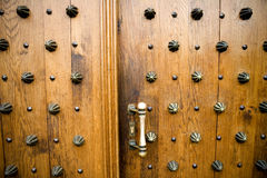 Great door. Church door royalty free stock photography
