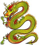Great Dragon color Stock Photos