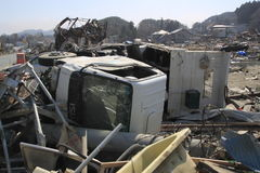 The Great East Japan Earthquake Royalty Free Stock Images