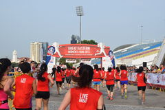 Great Eastern Women Run 2015 Event Stock Images