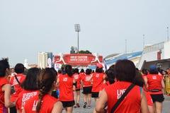 Great Eastern Women Run Running Event 2015 Royalty Free Stock Photos