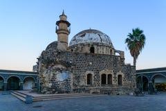 Great El Omri Mosque, in Tiberias Royalty Free Stock Photo