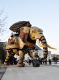 The Great Elephant in Nantes Stock Photography