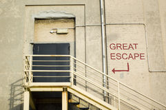 The great escape Stock Photography