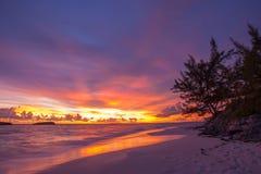 Great Exuma, Bahamas. Beautiful Sunrise at Great Exuma, Bahamas royalty free stock images