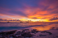 Great Exuma, Bahamas. Beautiful Sunrise  at  Great Exuma, Bahamas Stock Photography