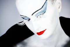 Great eyelashes Stock Photography