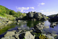 Great Falls. A view a Great Falls National Park in Maryland Stock Photo