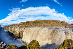 Great Falls Dettifoss in Iceland Stock Photography