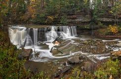Great Falls druciarza ` s zatoczki wąwóz Obrazy Stock