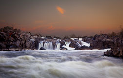 Great Falls at dusk Stock Photography