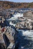 Great Falls en automne III photos stock