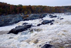 Great Falls Maryland. Photo of Great Falls along the Potomac river in the state of Maryland Stock Images