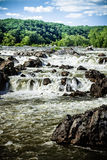 Great Falls National Park Virginia Stock Images