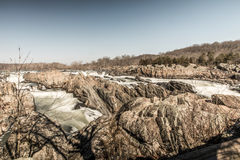 Great Falls National Park royalty free stock photos