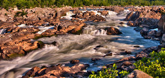 Great Falls near Washington DC Royalty Free Stock Photo