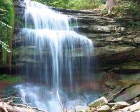 Great Falls Niagara Escarpment. Grindstone Creek falls over the Niagara Escarpment in Waterdown Ontario Canada stock images