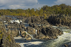 Great Falls Park Royalty Free Stock Photography