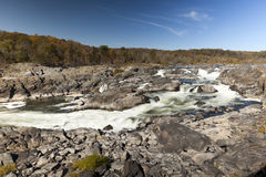 Great Falls Park, Virginia, USA Royalty Free Stock Photos