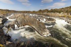 Great Falls Park, Virginia, USA Stock Image