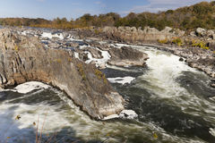Great Falls Park, Virginia, USA Royalty Free Stock Photography