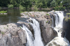 The Great Falls of Paterson New Jersey Royalty Free Stock Photos