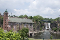 The Great Falls of Paterson New Jersey Royalty Free Stock Photography