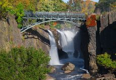 The Great Falls in Paterson, NJ Stock Photos