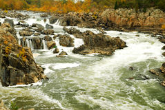 Great Falls of the Potomac Stock Image