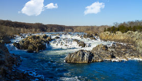 Great Falls on Potomac outside Washington DC Stock Photography