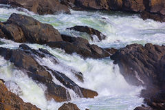 Great Falls on Potomac River, USA. Great Falls National Park in Virginia and Maryland, USA Stock Photography