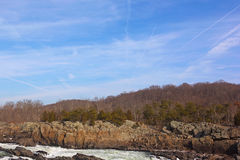 Great Falls on Potomac River, USA Royalty Free Stock Photos